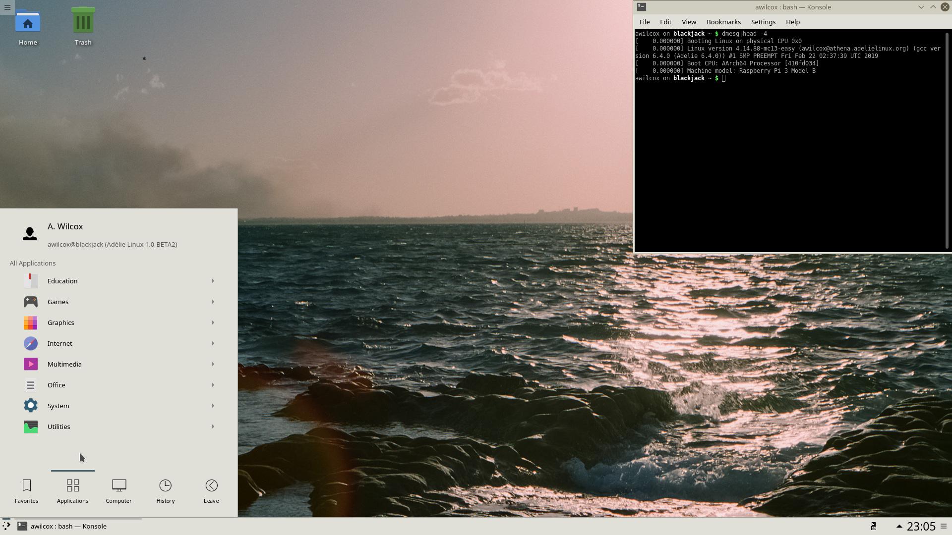 Booting a custom kernel/OS on the Raspberry Pi 3 B (64-bit